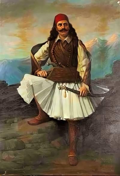 Αλέξανδρος Ρίζος Ραγκαβής: Ο κλέφτης (Μαύρ' είν' η νύχτα στα βουνά)