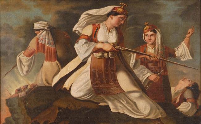 Γυναικεία Λεβεντιά – Οι άγνωστες ηρωίδες της Επαναστάσεως