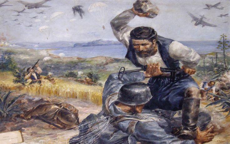 Αλληλογραφία Χίτλερ-Μουσολίνι με θέμα την Κρήτη